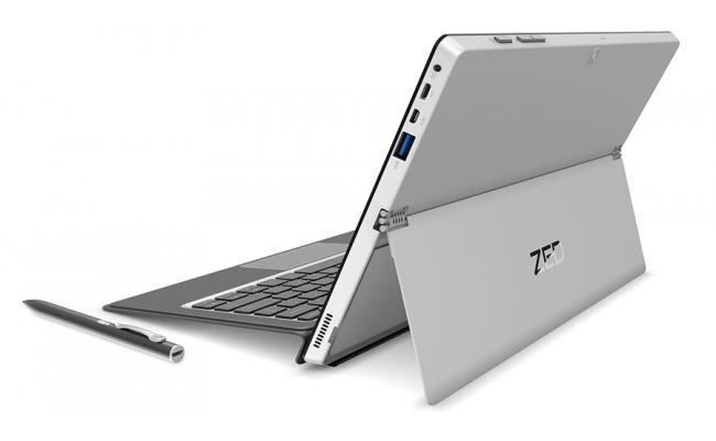 """i-Life ZedBook II 2 in 1 Tablet 11.6"""" Touch Screen - Silver"""