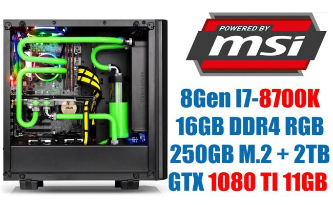 MSI Power 80GTX I Water Cooling