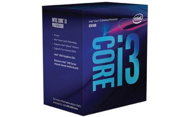 Intel Core i3-8300 Coffee Lake 4 Cores, 3.7GHz  , 8MB