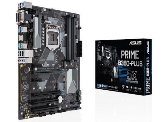 Asus PRIME B360-PLUS Intel B360 ATX Motherboard