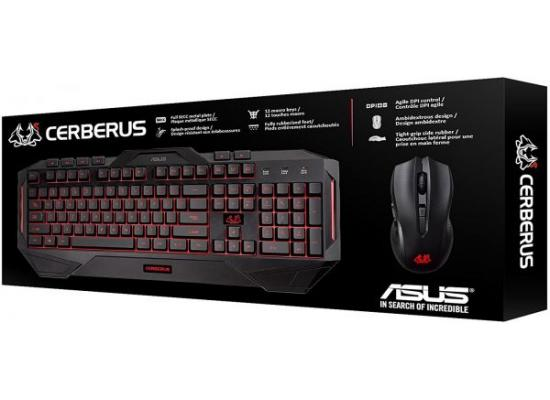 Cerberus Keyboard and Mouse Gaming Combo USB