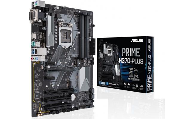 Asus PRIME H370-PLUS Intel H370 ATX Motherboard