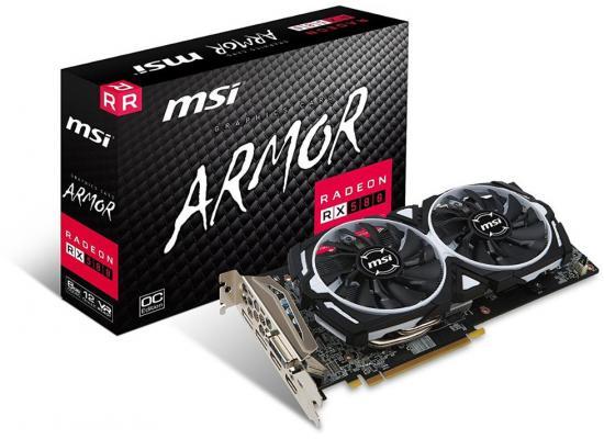 MSI AMD Radeon RX 580 ARMOR OC 8GB GDDR5