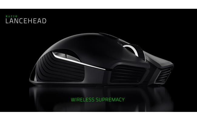 Razer Lancehead Wireless Edition Ambidextrous Mouse