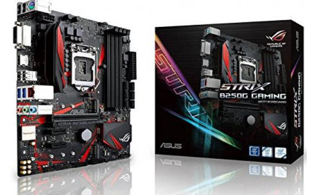 Asus STRIX B250G GAMING Intel B250  DDR4 Motherboard