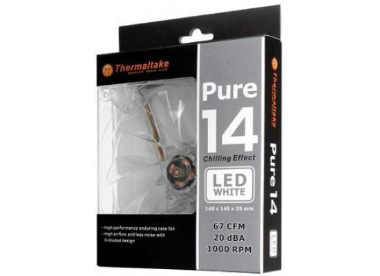 Thermaltake Pure 140mm White LED Case Fan