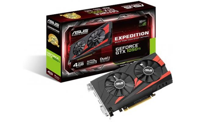 Asus NVIDIA GeForce GTX 1050TI Expedition 4GB GDDR5