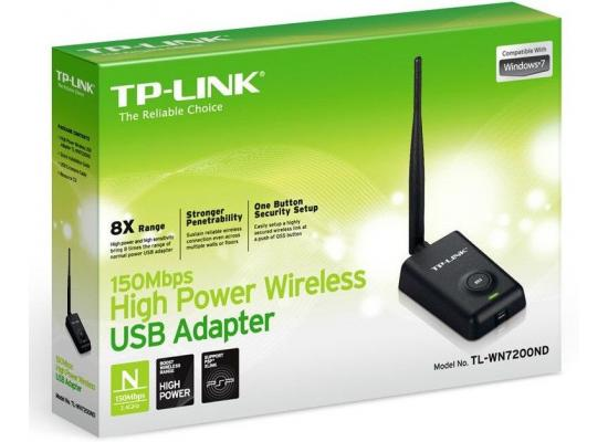 TP-Link 150Mbps High Power Wireless USB Adapter