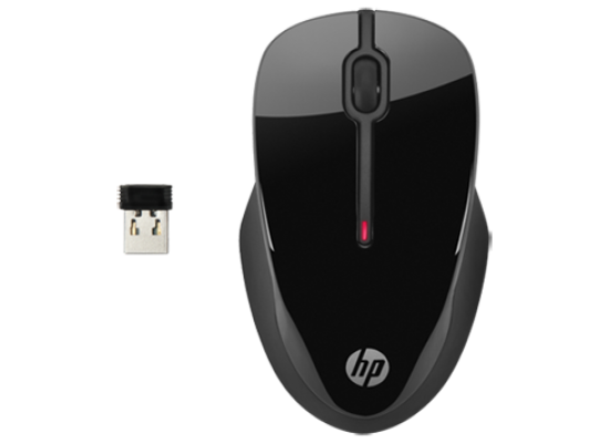 HP X3500 Wireless Mouse Black