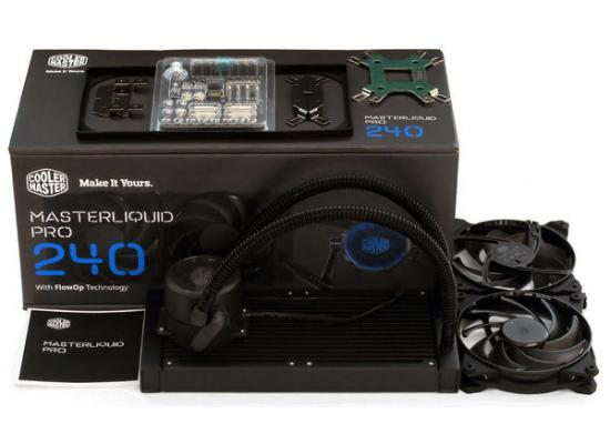 Cooler Master MasterLiquid Pro 240 Liquid Cooler
