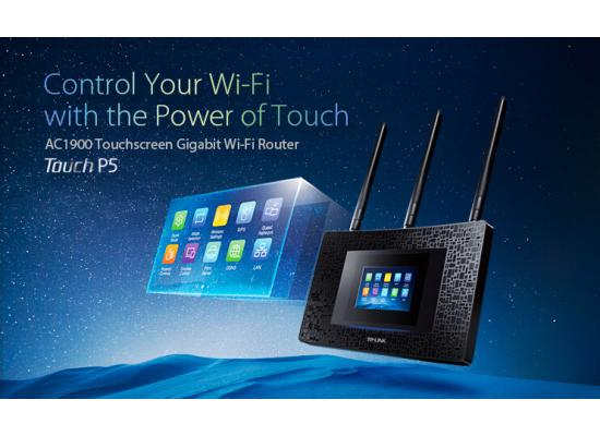 TP-Link TOUCH P5 AC1900 Touch Screen Wi-Fi Router
