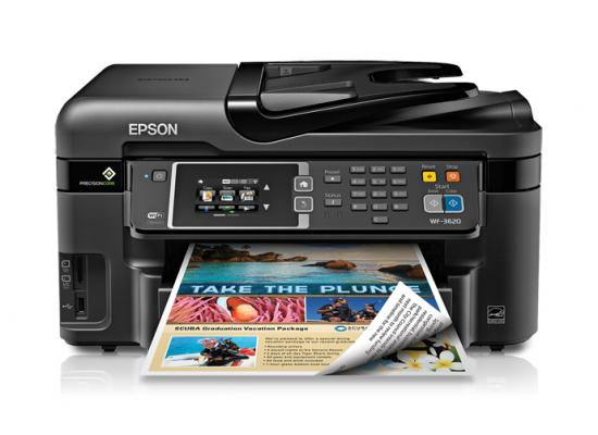 Epson WorkForce WF-3620 All-in-One Wireless Printer