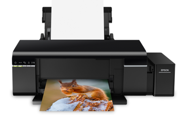 Epson L805 6 Color Wireless Ink Refill Photo Printer