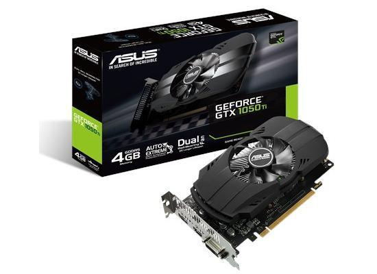 Asus NVIDIA GTX 1050 Ti PHOENIX Fan 4GB GDDR5