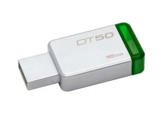 Kingston 16GB DT50 USB 3.0 Flash Drive (Green)