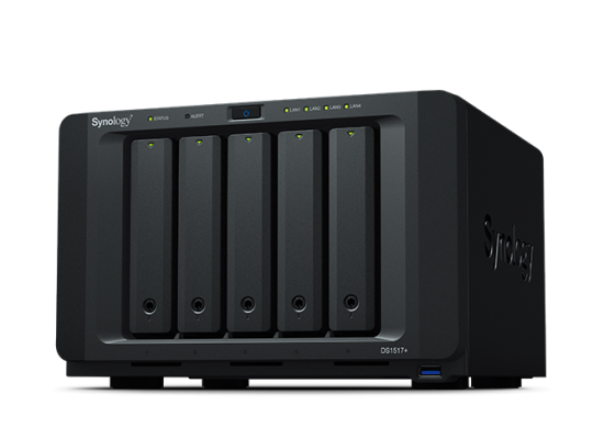 Synology DiskStation DS1517+ (2GB) 5-Bay  NAS for SMB