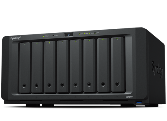 Synology DiskStation DS1817 (4GB) 8-Bay NAS for SMB