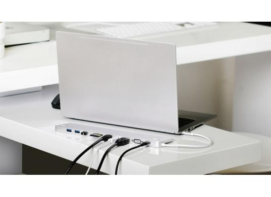 IOGEAR GUD3C02 USB-C Ultra-Slim Dual Display Docking
