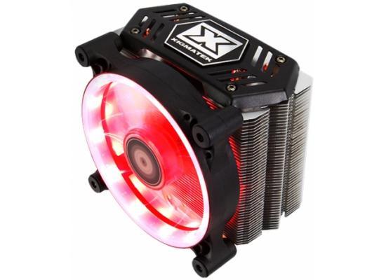 XIGMATEK Whiz 120mm 4 Pipe SE-II Red LED Cooler