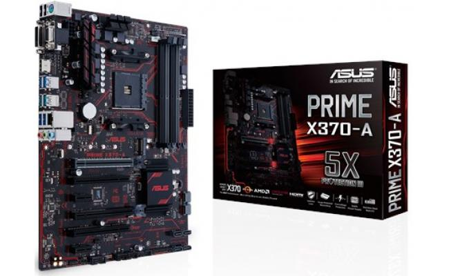 Asus PRIME X370-A AMD X370 Socket AM4 Motherboard