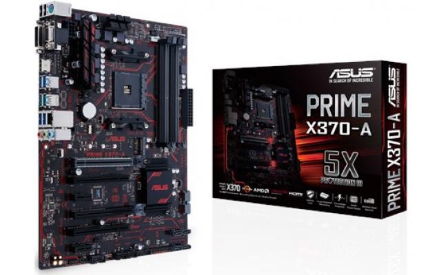 Asus PRIME X370-A AMD X370 Socket AM4 Motherboard