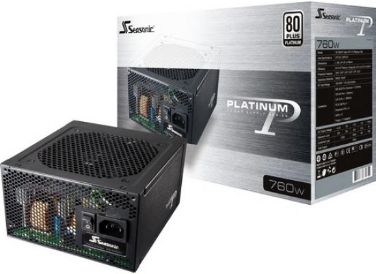Seasonic 760W 80 PLUS Platinum PSU w/ Active PFC