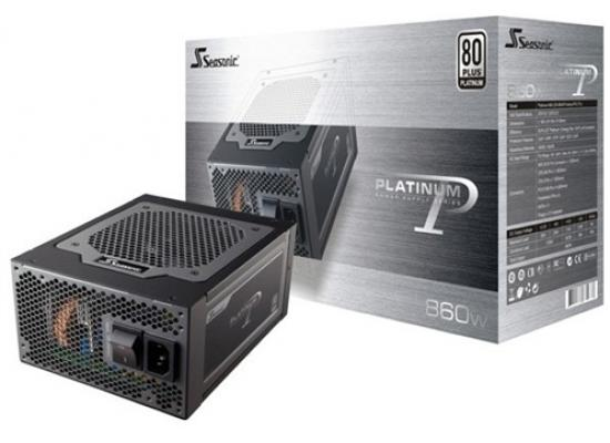 Seasonic  860W 80 PLUS Platinum PSU w/ Active PFC