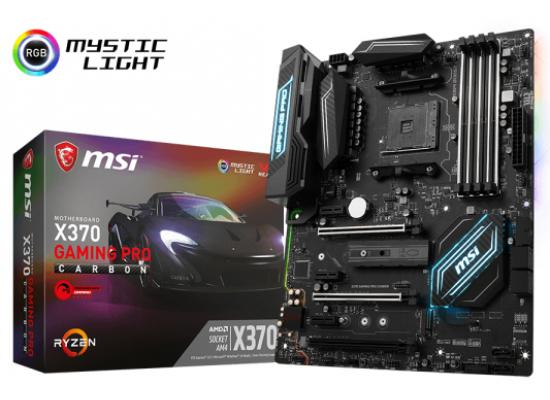 MSI X370 GAMING PRO CARBON AMD X370  AM4