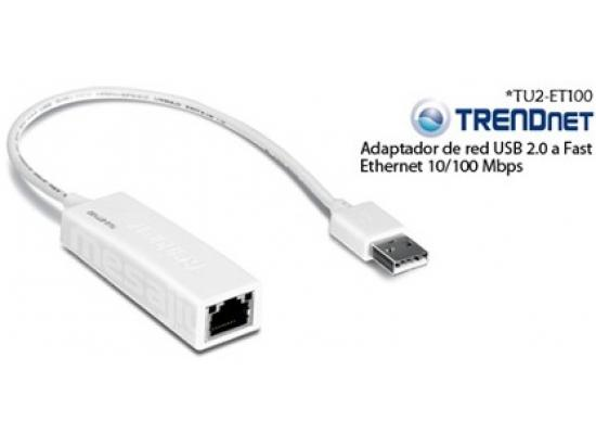 TRENDnet TU2-ET100 USB2.0 to 10/100Mbps Adapter