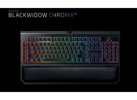 Razer BlackWidow Chroma V2 Gaming Keyboard (Green)