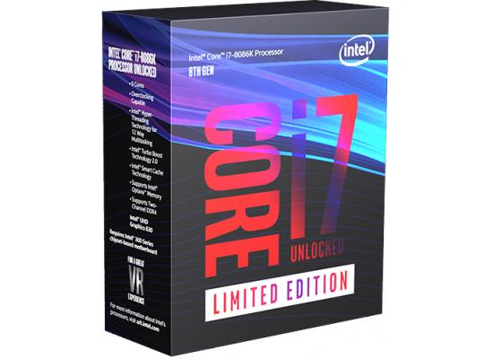 Intel Core i7-8086K Coffee Lake Limited Edition Processor