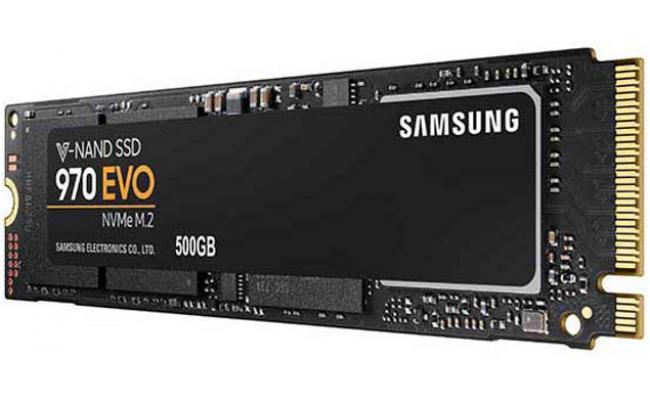 Samsung 970 EVO NVMe 500GB M.2 PCI-Express 3.0