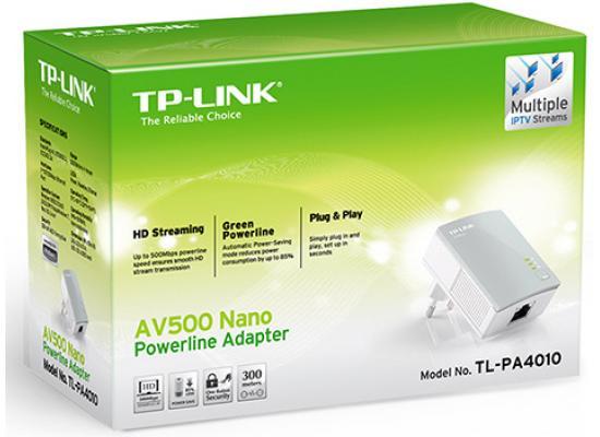 TP-Link TL-PA4010 500Mbps AV500 Nano Powerline
