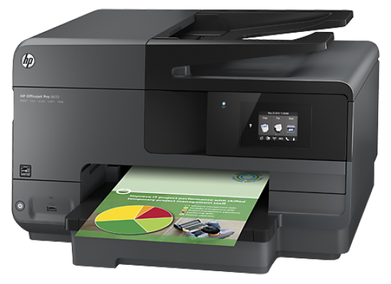 HP Officejet Pro 8610 e-All-in-One Wireless Color