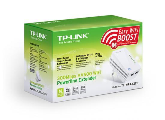 TP-Link TL-WPA4220  AV500 Wi-Fi Powerline Extender