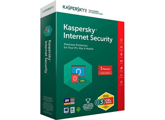 KASPERSKY lab Internet Security 2018 For 3+1 Free