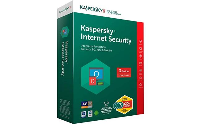 KASPERSKY lab Internet Security 2018 For 3+1 Free