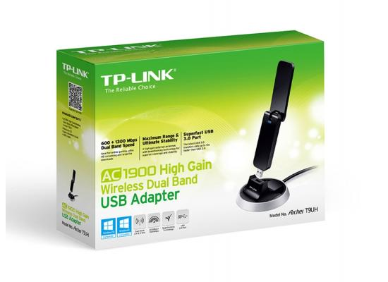 TP-Link ARCHER T9UH AC1900 High Gain USB Adapter