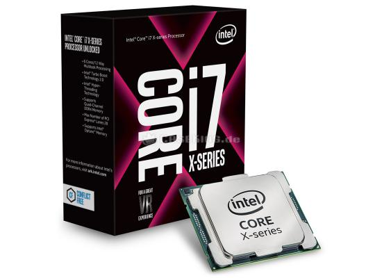 Intel Core i7-7800X 6-Core up to 4.0 GHz 8.25 MB Cache