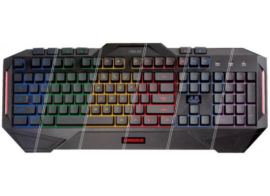 ASUS Cerberus MKII Multi-Color Backlit Gaming Keyboard