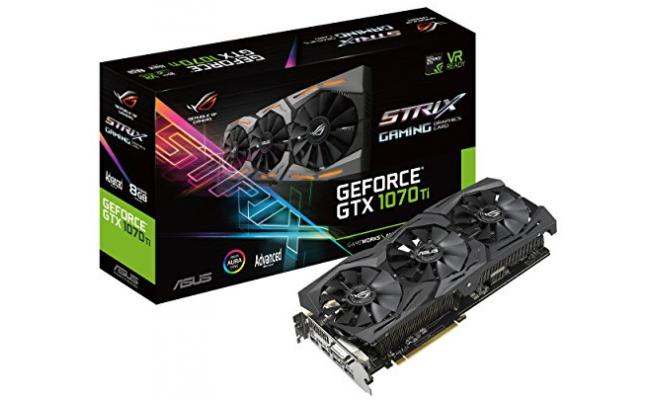 Asus ROG Strix GTX 1070 TI Advanced 8GB GDDR5