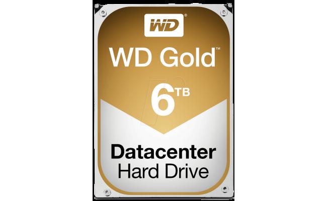 Western Digital Gold 6TB 7200RPM 128MB Enterprise