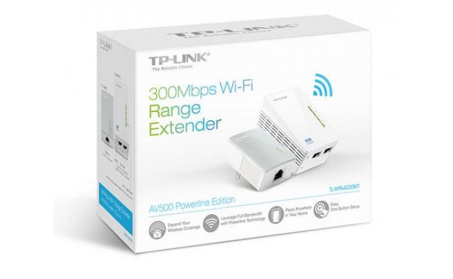 TP-Link TL-WPA4220KIT AV600 Powerline Extender Kit