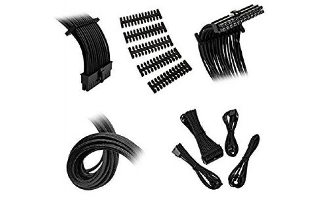 Bitfenix Alchemy 2.0 Extension Cable Kit - Black