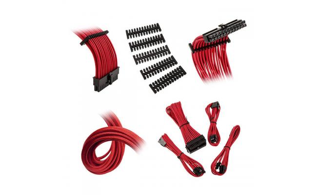 Bitfenix Alchemy 2.0 Extension Cable Kit - Red