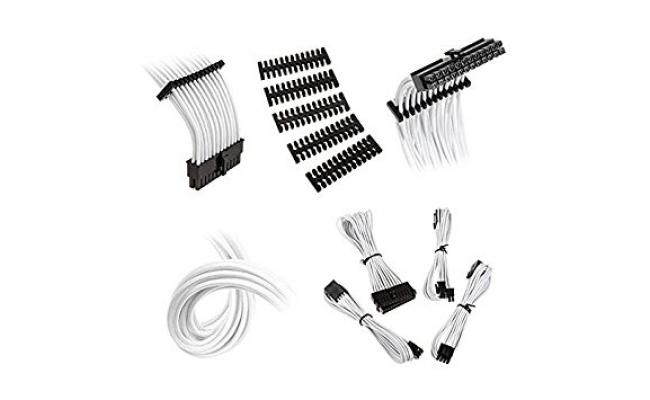 Bitfenix Alchemy 2.0 Extension Cable Kit - White