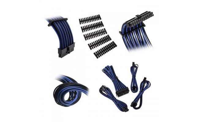 Bitfenix Alchemy 2.0 Extension Cable Kit - Black/ Blue