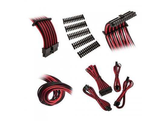 Bitfenix Alchemy 2.0 Extension Cable Kit - Black/ Red (BFX-ALC-EXTKR-RP)