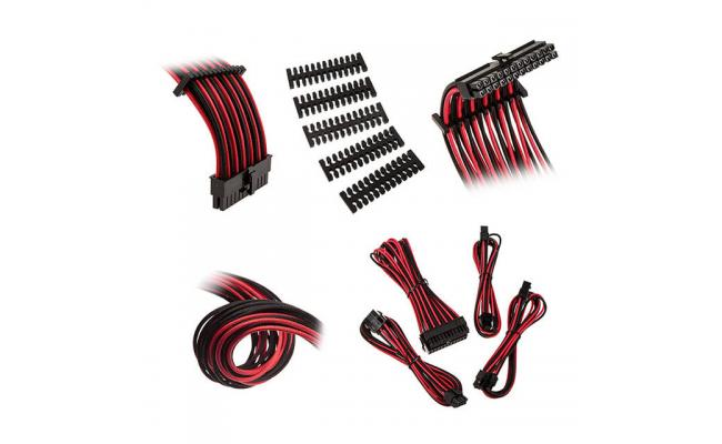 Bitfenix Alchemy 2.0 Extension Cable Kit - Black/ Red (BFX-ALC-EXTKR-RP)