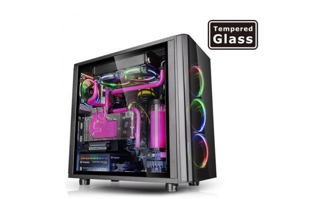 Thermaltake View 31 RGB Dual Tempered Glass Gaming Case
